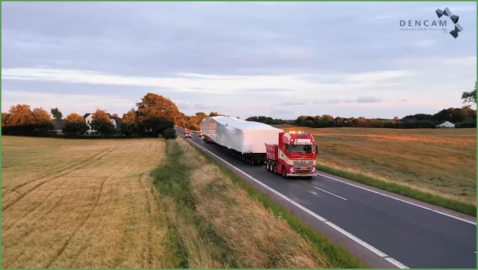 Dencam - 90 meter transport